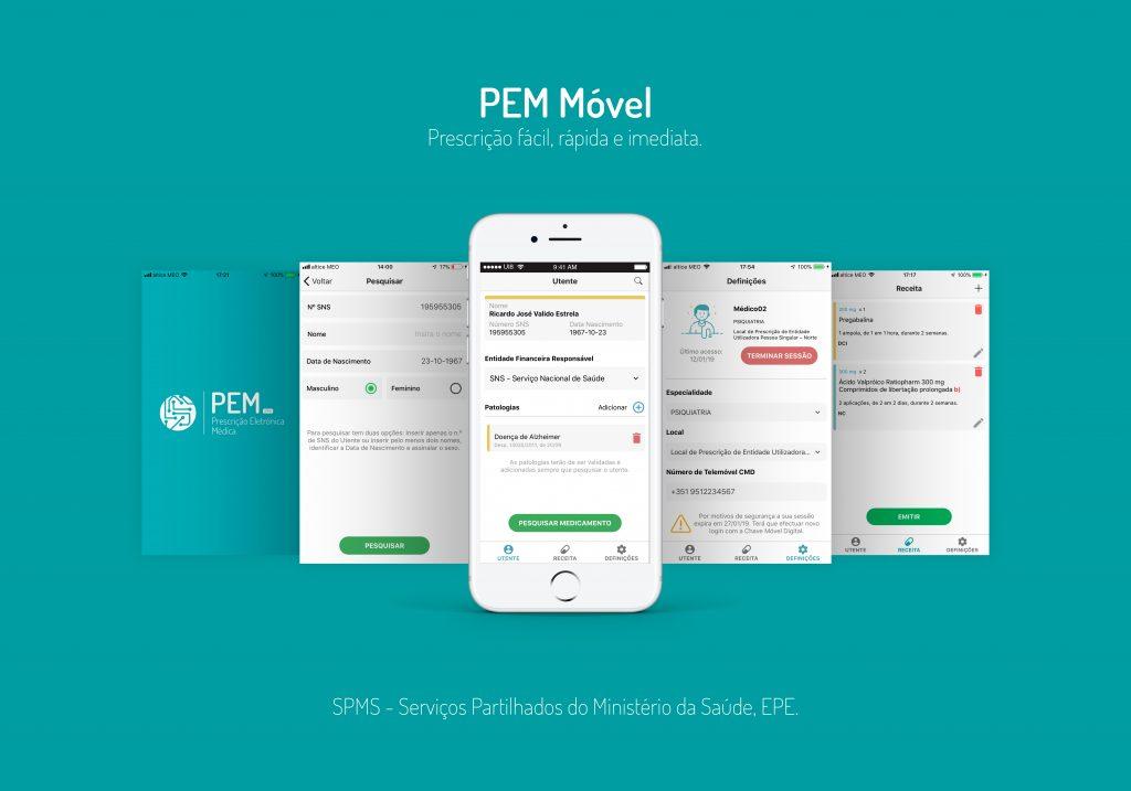 PEM Móvel - Prescrição Fácil, rápida e móvel - SPMS - Serviços Partilhados do Ministério da Saúde